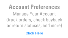 Account preferences side