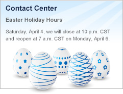 Easter Hours Bottom Ad