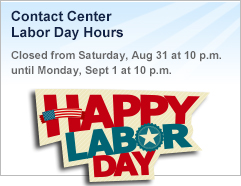 Labor Day Advert